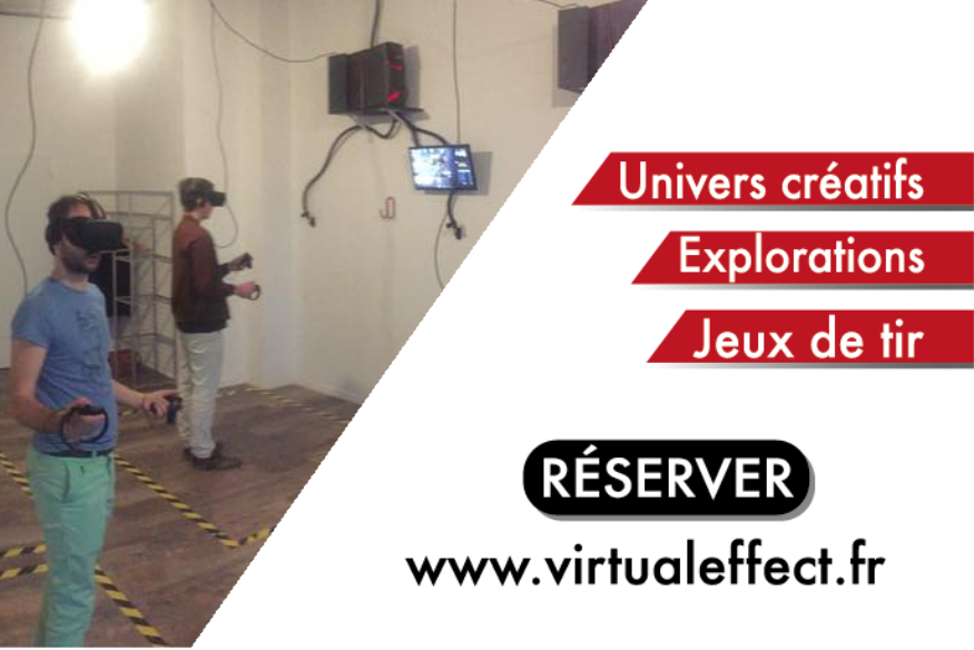 2 PARTIES CHEZ VIRTUAL EFFECT