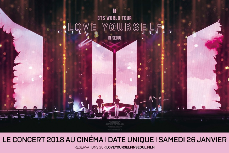 PLACES CONCERT BTS - PATHE ANNECY