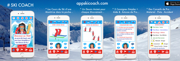 L'APPLICATION SKI COACH DANS LE GRAND FORMAT