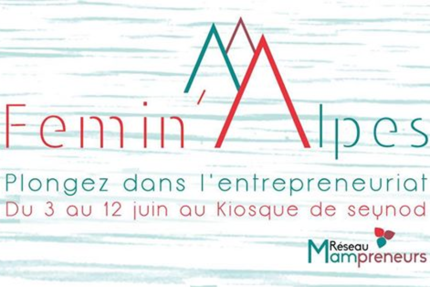 LE SALON FEMIN'ALPES DANS LE GRAND FORMAT